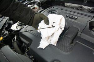 trop d'huile dans le moteur